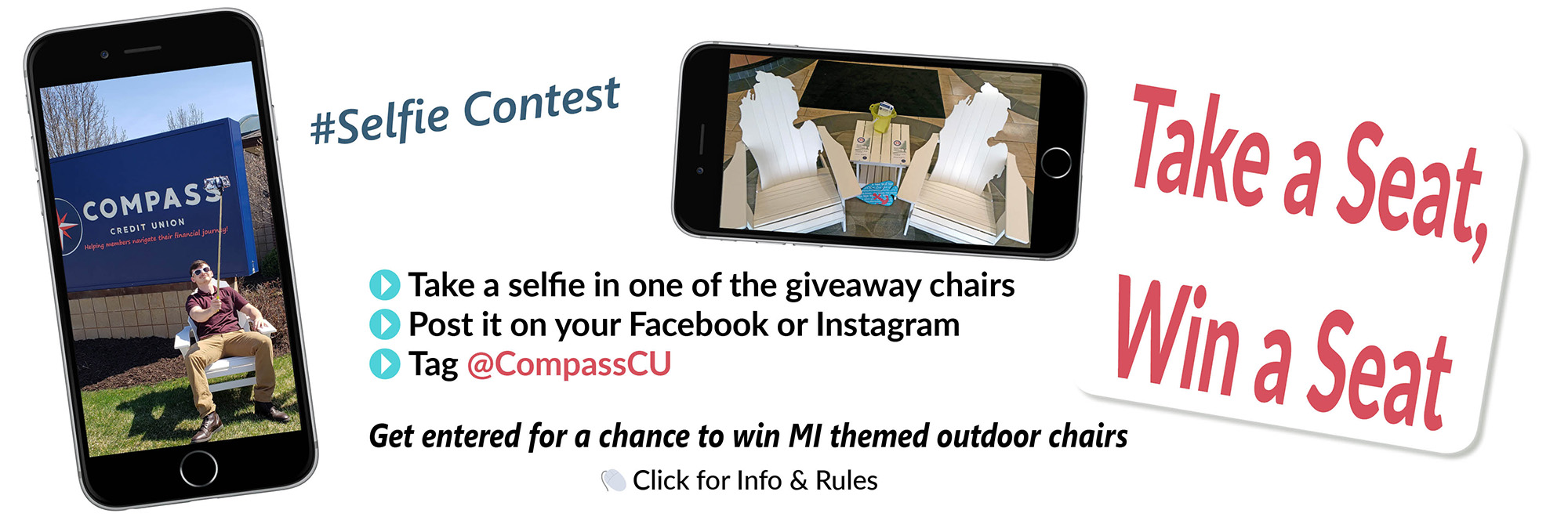 Take A Seat – Selfie Contest