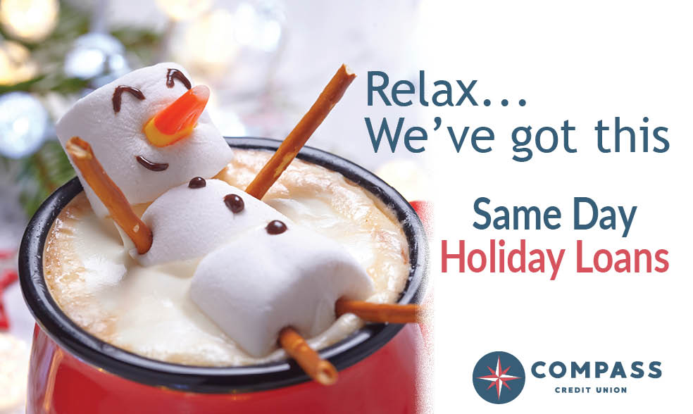 Same Day Holiday Loans at Compass CU