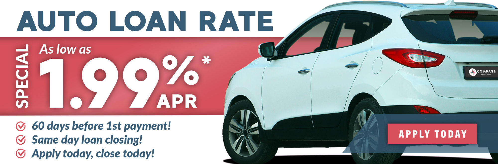 Auto Loan Rate Special